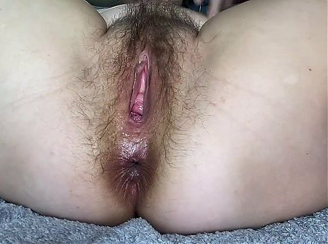 Hot Stepmom testing first time anal eggplant. Close up