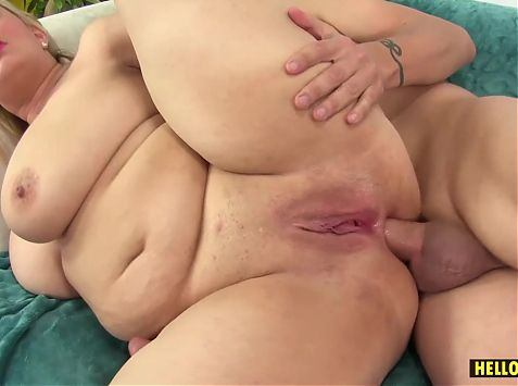 Chubby Blonde Chicks Fuckholes Filled Up With Long Dick